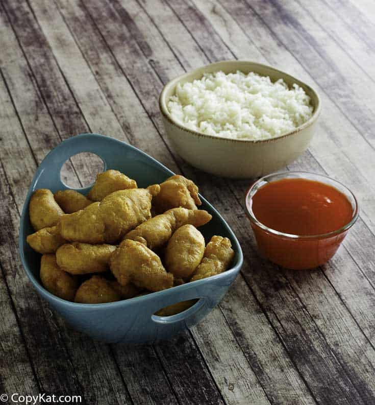 Sweet and Sour chicken can be made at home.
