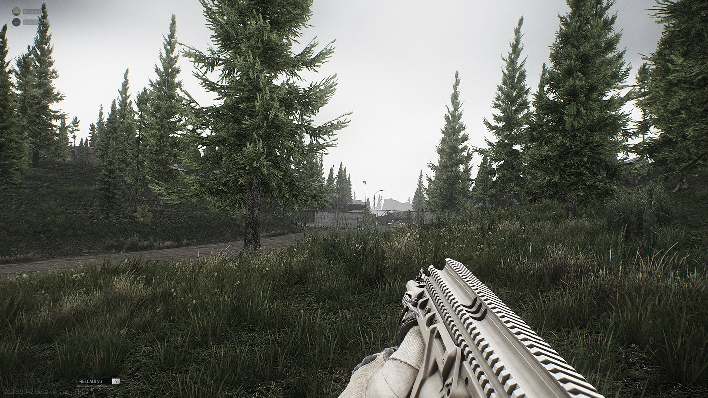 A grenade launcher allows you to fire projectiles across the field. As with everything in Tarkov: The handling needs to be practiced.