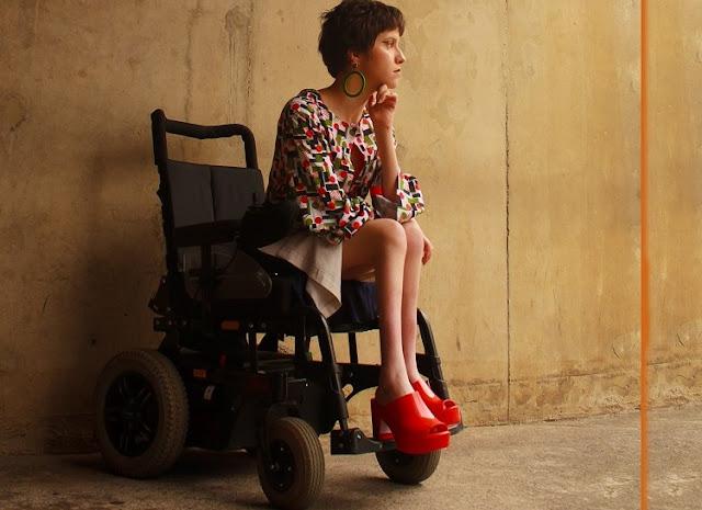 coleção para pessoas com deficiência