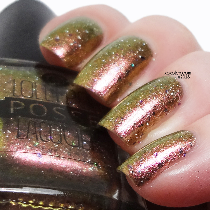 xoxoJen's swatch of Lollipop Posse The Sending