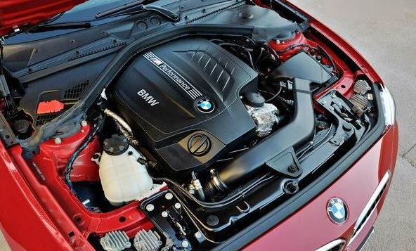 2017 engine BMW M240i Coupe Automatic