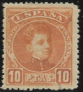 Spain 1901 Alfonso XIII of Spain