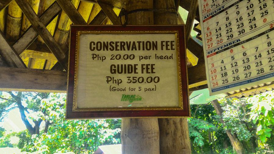 Kiti Calao Falls Entrance Fee Mayantoc Tarlac