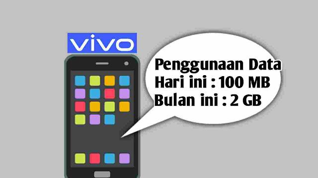 Cara Cek Penggunaan Data di HP Vivo Semua Tipe