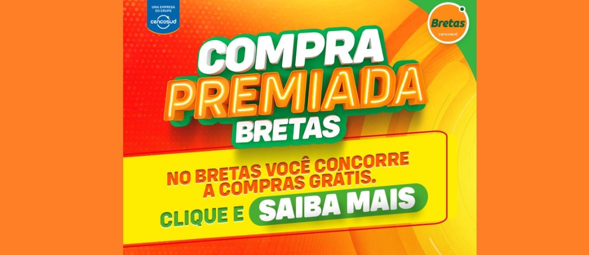 Promoção Compra Premiada Bretas Supermercados 2020 Compra Grátis Até 500 Reais