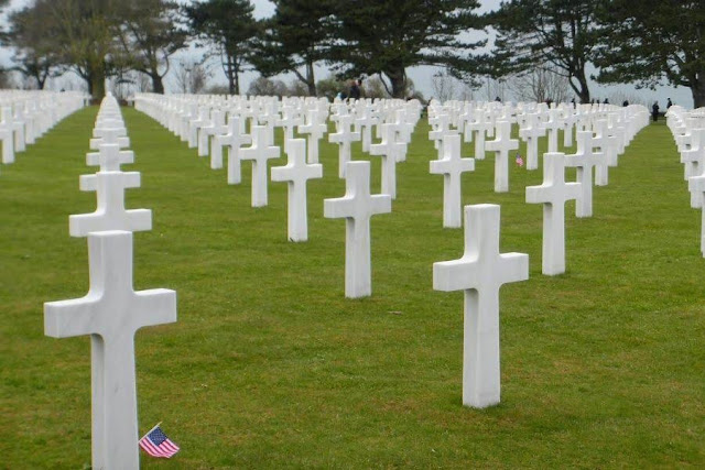 Paris to Normandy Road Trip: The American Cemetery