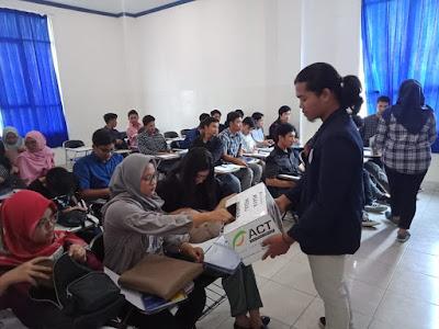 Aksi Solidaritas Mahasiswa IBI Darmajaya untuk Korban Konflik Wamena