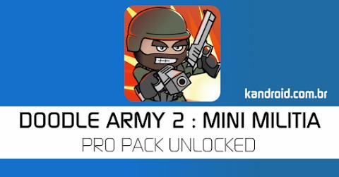 Doodle Army 2: Mini Militia v4.1.1 APK Mod [Tudo Desbloqueado]