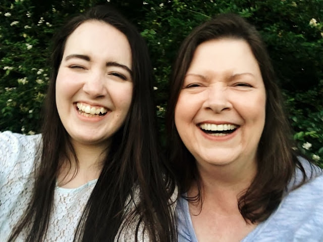Tera and I laughing #ad #giveaway