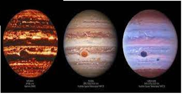 Incredible Images Reveal a Single Moment on Jupiter in Different Wavelengths of Light