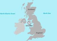 Ubicación de la Isla de Man