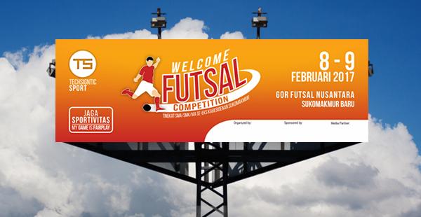 Banner/Spanduk Futsal