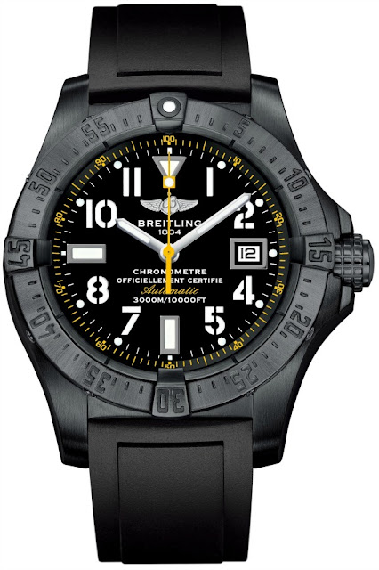Hands On: Breitling Avenger Seawolf Code Yellow 45mm Diver's Watch Replica