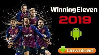 Download winning eleven we 2019 v6 Apk Download for Android