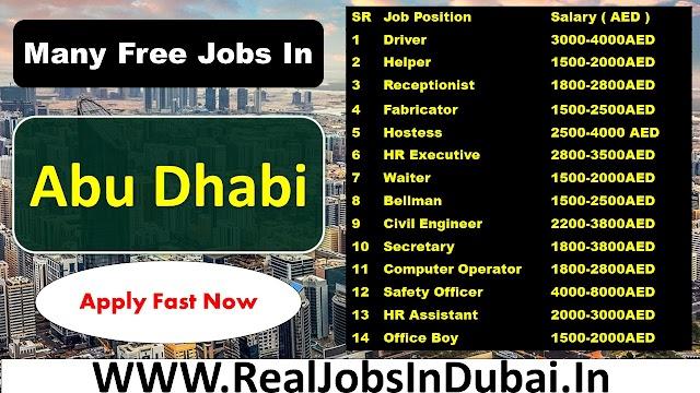 Jobs In Abu Dhabi  UAE 2021