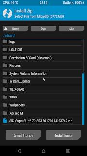 Cara Root Asus Zenfone 4 Selfie dan Install TWRP Recovery