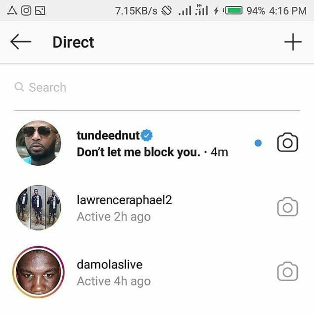 Tunde Ednut Attacks David Njoku For Mocking Lyta 9portalz Tunde ednut, ruggedman, do2dtun in throwback. tunde ednut attacks david njoku for