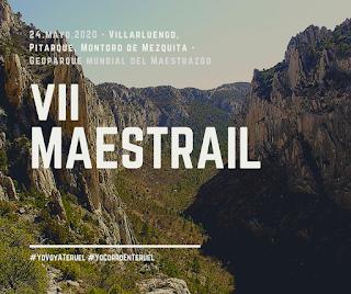 """Esto es el #Geoparque del #Maestrazgo (una parte, faltan, entre otras muchas cosas, otros 2 Monumentos Naturales de Aragón, aquí están 4 de los 6 que existen).  Y es que correr el #Maestrail del #24deMayo es disfrutar de un #GeoparqueMundial #UNESCO, y lo harías en el año en el que celebramos 20 años como Geoparque.  Mira bien las imágenes. ¿Hay pruebas con más nombre?, sí. ¿Hay carreras con más gente?, sí. ¿Y el entorno y paisaje?... """"no hay más preguntas, señoría"""" 😉😊  #YoVoyATeruel #YoCorroEnTeruel #Villarluengo #Pitarque #MontoroDeMezquita #GeoparqueDelMaestrazgo #Teruel"""