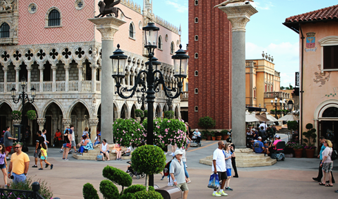 Italy Pavilion Epcot World Showcase