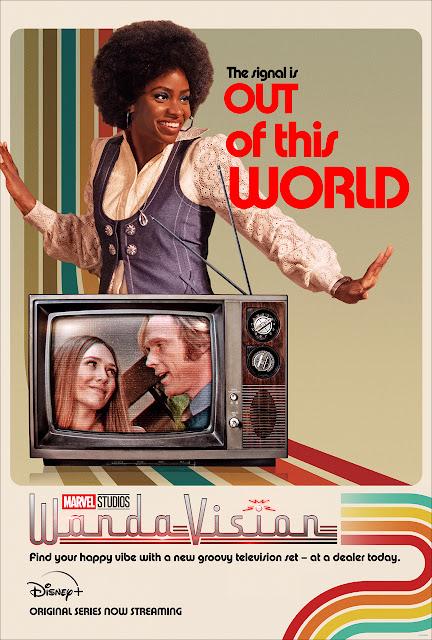 Marvel Studios WandaVision劇集最新宣傳海報及預告, Disney+