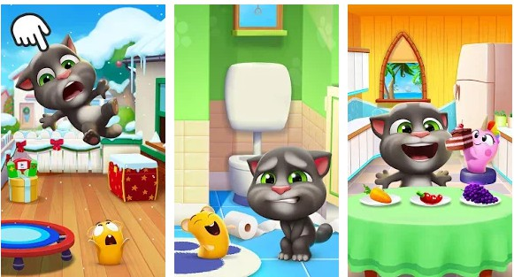 Game Kucing Bicara: My Talking Tom 2 Mod Apk