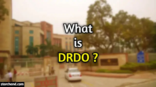 What is DRDO?