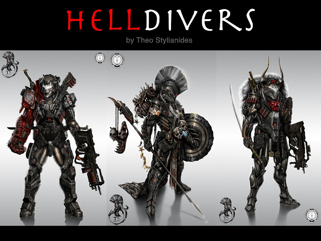 Hell Divers by Theo Stylianides photo