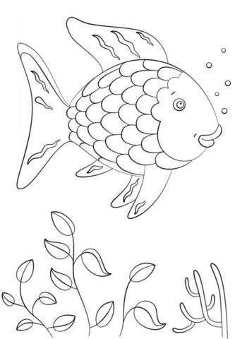 Tranh tô màu con cá 6