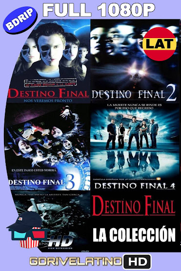 Destino Final (2000-2011) Saga Completa BDRip 1080p Latino-Ingles MKV
