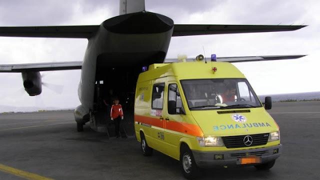 788 αεροδιακομιδές ασθενών από τις ένοπλες δυνάμεις το πρώτο οχτάμηνο του 2019