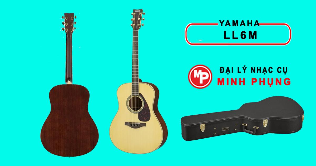 Đàn Guitar Yamaha LL6M