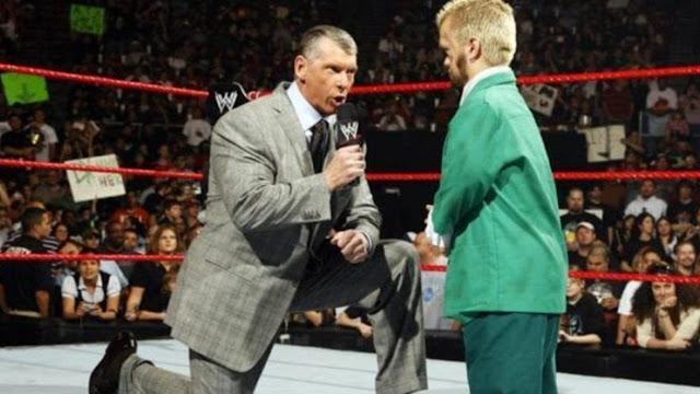 """Hornswoggle deveria ter sido """"morto"""" por Vince McMahon em 2007"""