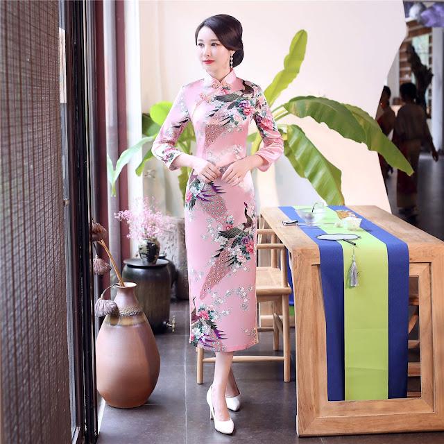 Long Qipao Cheongsam Dresses