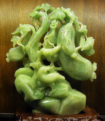 beautiful jade sculpture