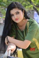 Akshitha cute beauty in Green Salwar at Satya Gang Movie Audio Success meet ~  Exclusive Galleries 017.jpg