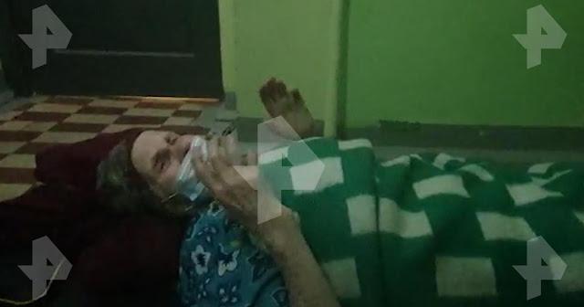 Пенсионерку привезли из больницы после лечения и оставили в подъезде на полу, так как ключь не нашли