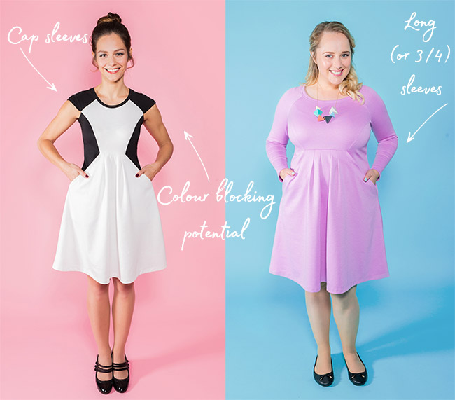 Zadie dress by Tilly and the Buttons