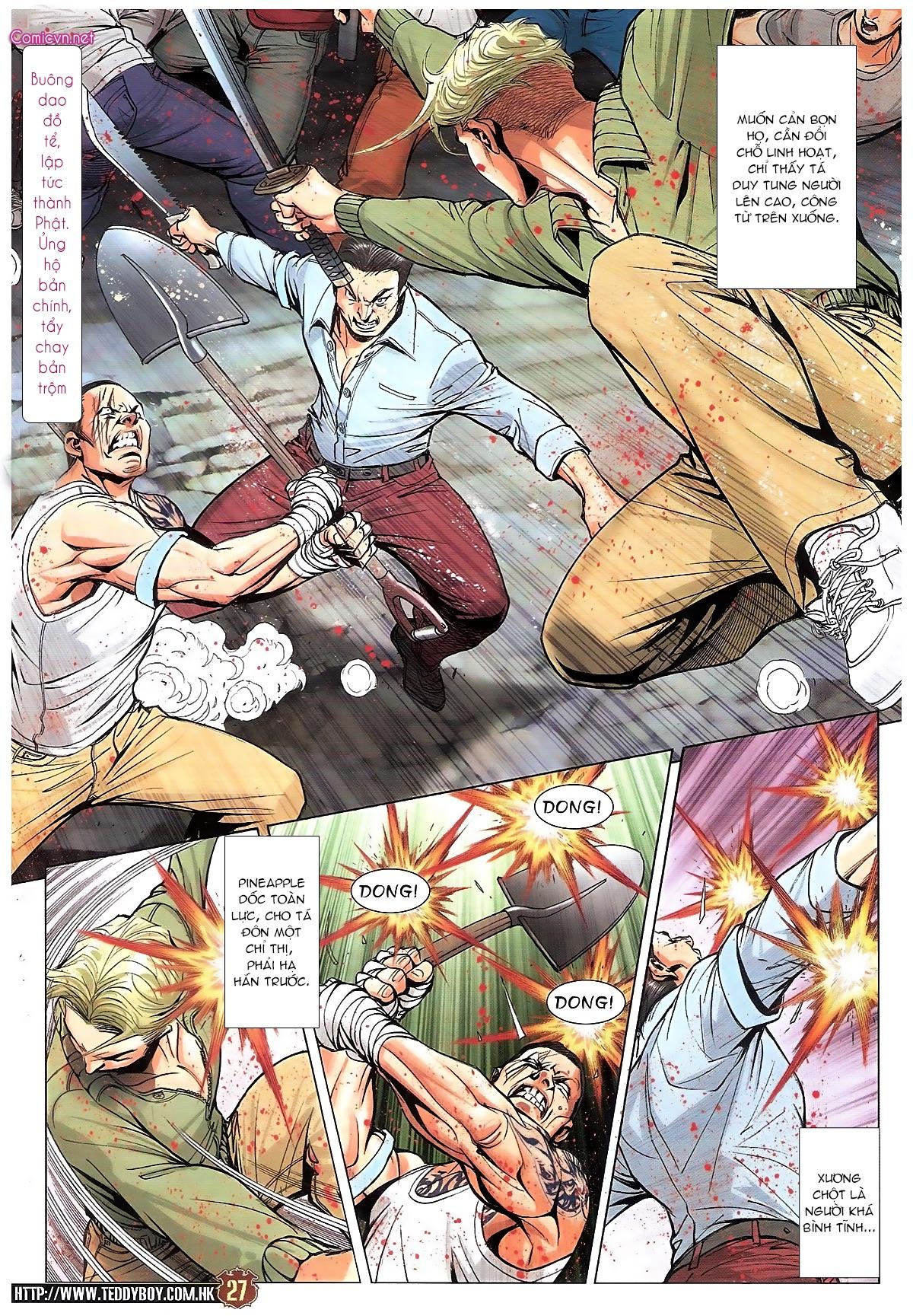 Người Trong Giang Hồ chapter 1834: kim mông không vs kim mông không trang 24