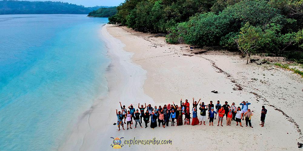 pulau peucang di taman nasional ujung kulon