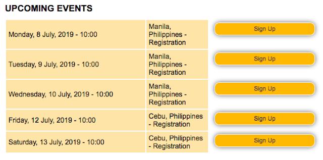 New Brunswick Information Session in Manila and Cebu - July 2019