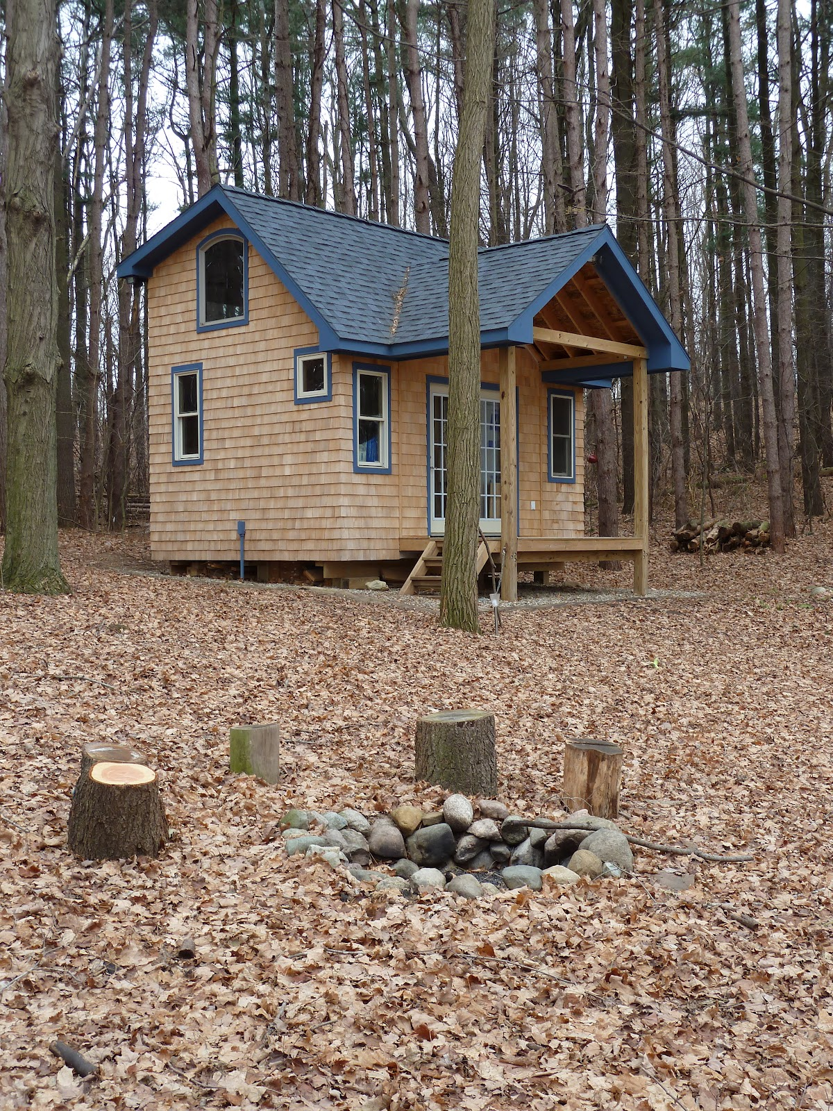 Tiny Home Designs: Relaxshacks.com: Andrea Funk's Super-Awesome Cabin/Tiny House