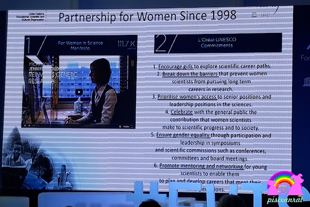 In response, L'Oréal and UNESCO founded the For Women in Science (FWIS) program in 1998 with the mission to  empower  more women in the field of sciences by increasing the number of women in scientific research, promoting more young women to enter the profession, and to assist them once their careers are in progress.