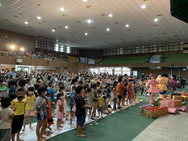 兒童劇鄉鎮巡演到秀水高工 彰化囝仔好幸福