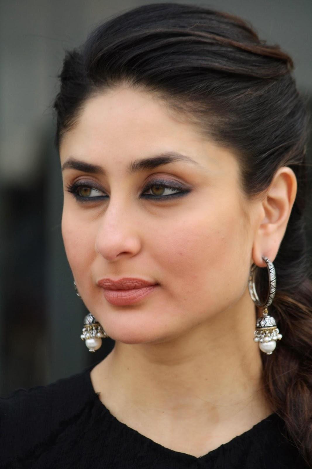 """Kareena Kapoor Looking Hot In Black Top At Film """"Gori Tere ..."""