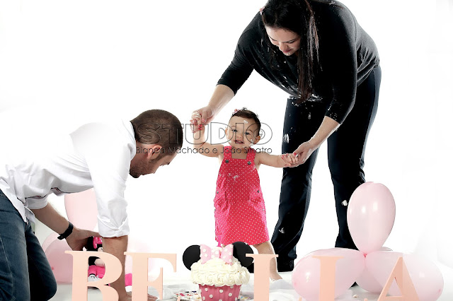 sessão de fotos smash the cake