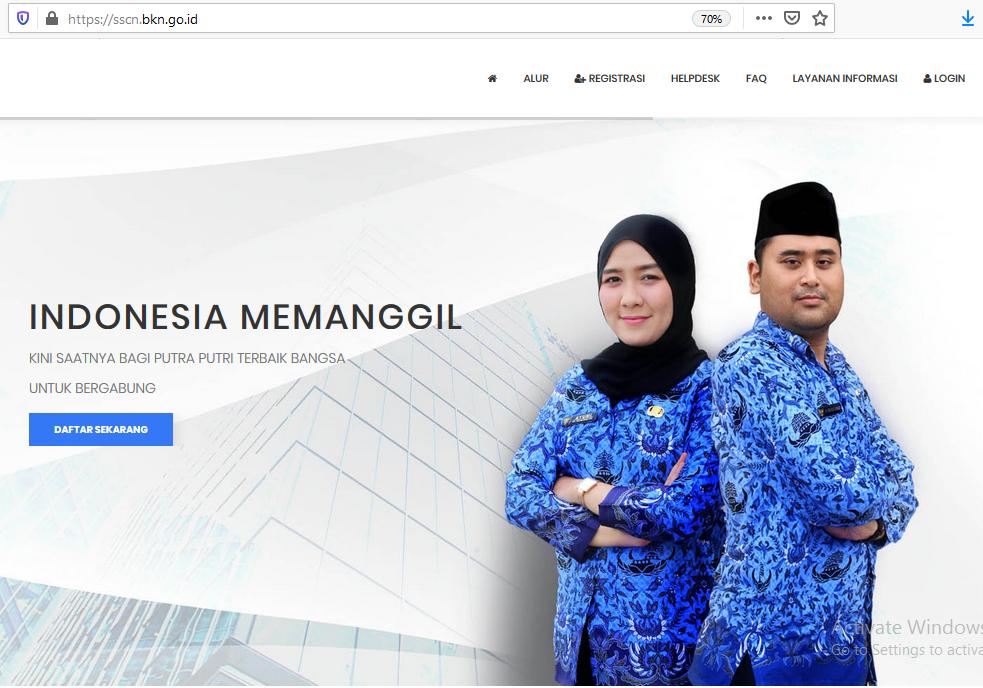 Pemkab Kebumen Umumkan Hasil Seleksi Administrasi CPNS 2019
