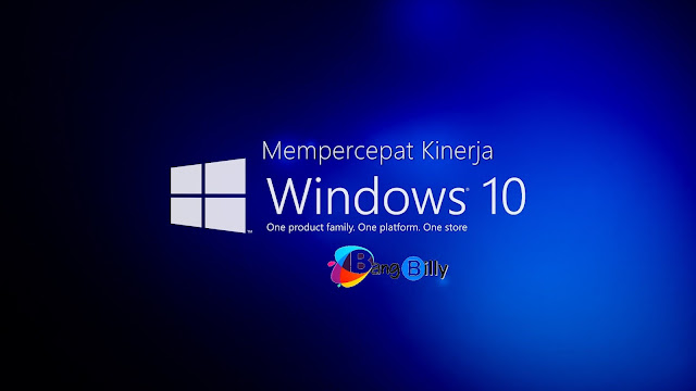 Cara Mempercepat Windows 10 Tested 100% Work
