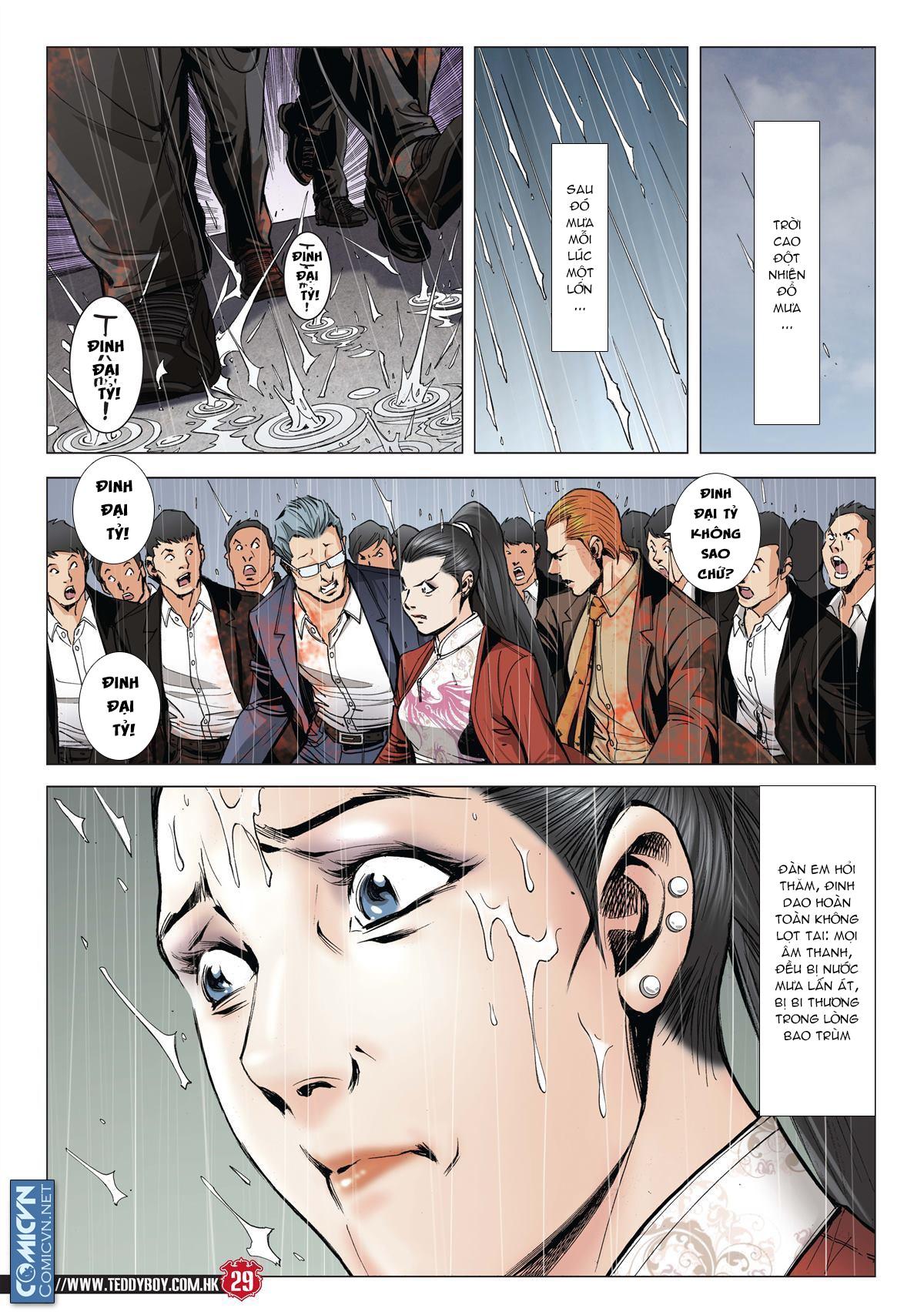 Người Trong Giang Hồ chapter 2001: tự tận trang 27