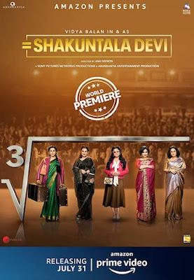 Shakuntala Devi 2020, Bollywood Movie