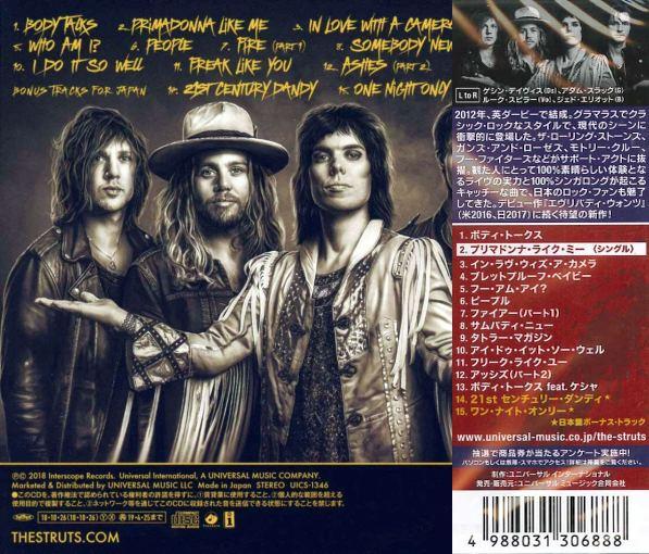 THE STRUTS - Young & Dangerous [Japan Edition +2] (2018) back